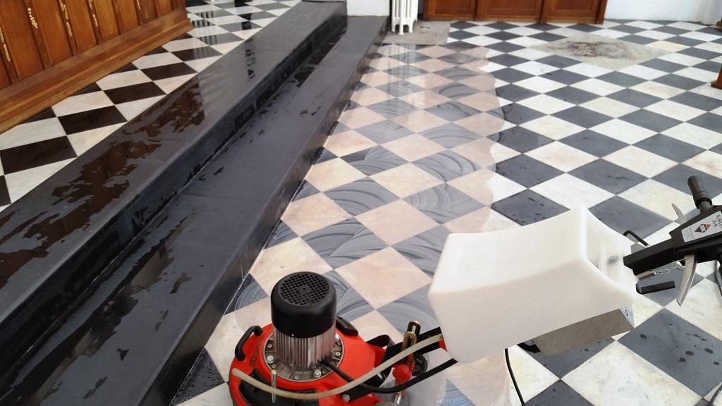 Marble Tile Restoration